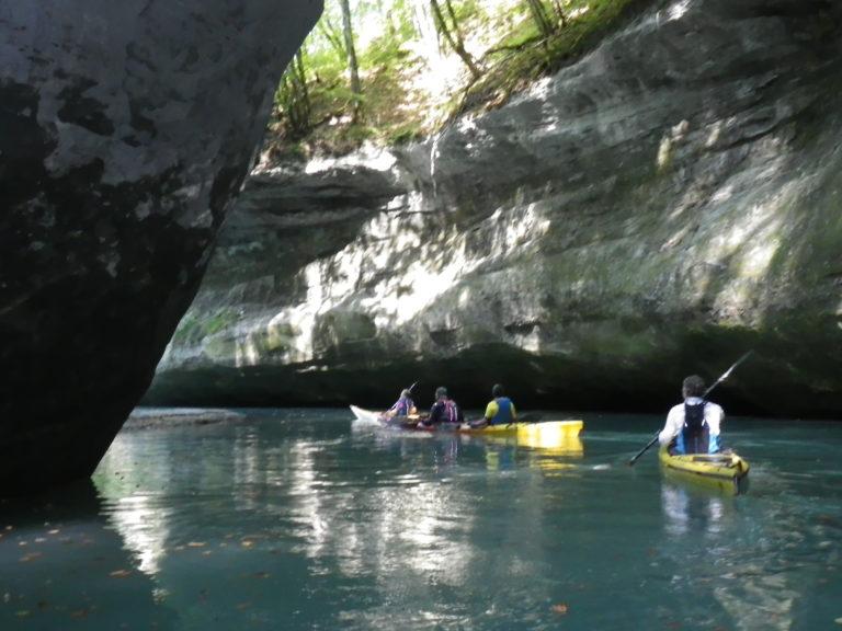 kayak tines de parnant rhone