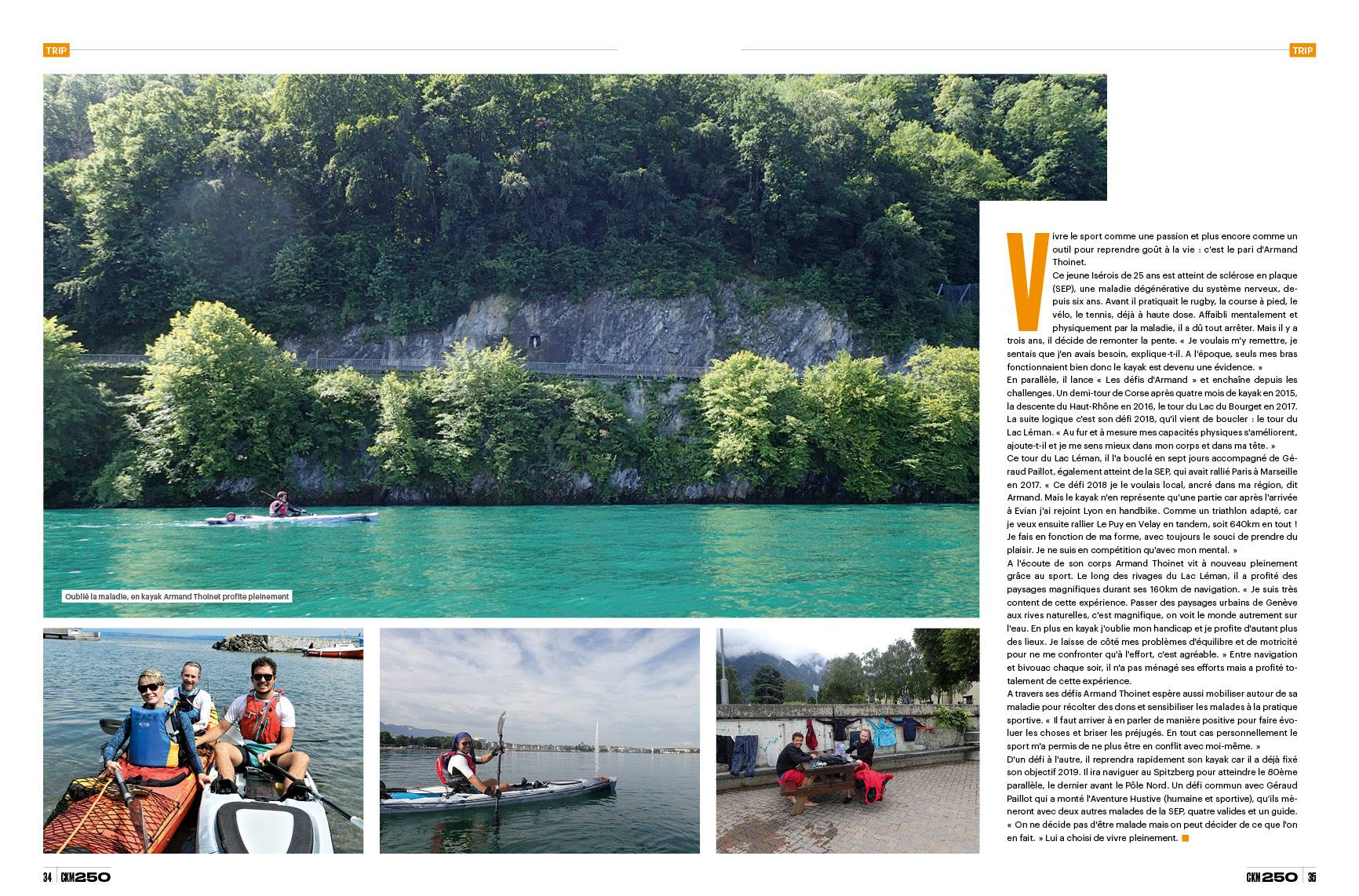 canoe kayak magazine aventue hustive 2