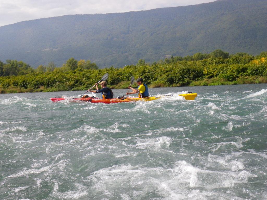rapide entrainement kayak aventure hustive 2