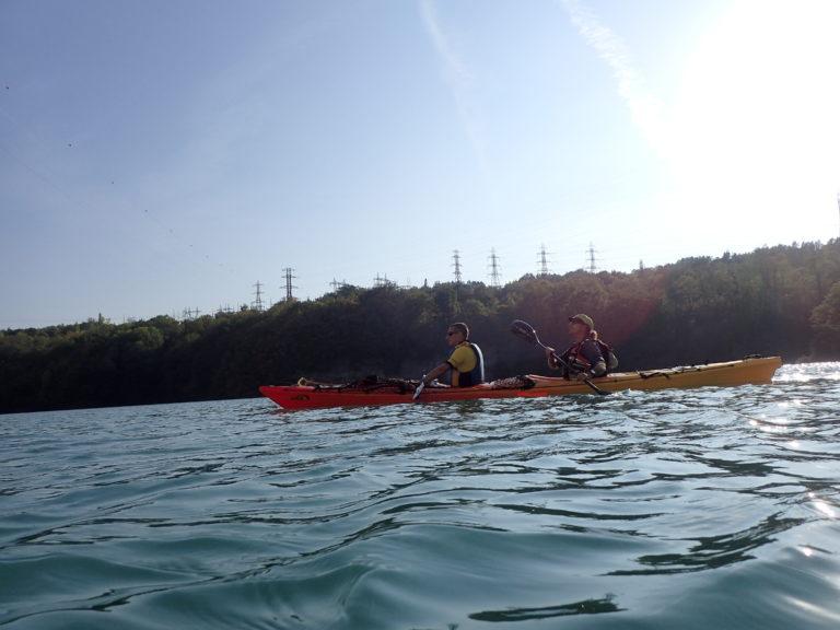 entrainement kayak bi place sep