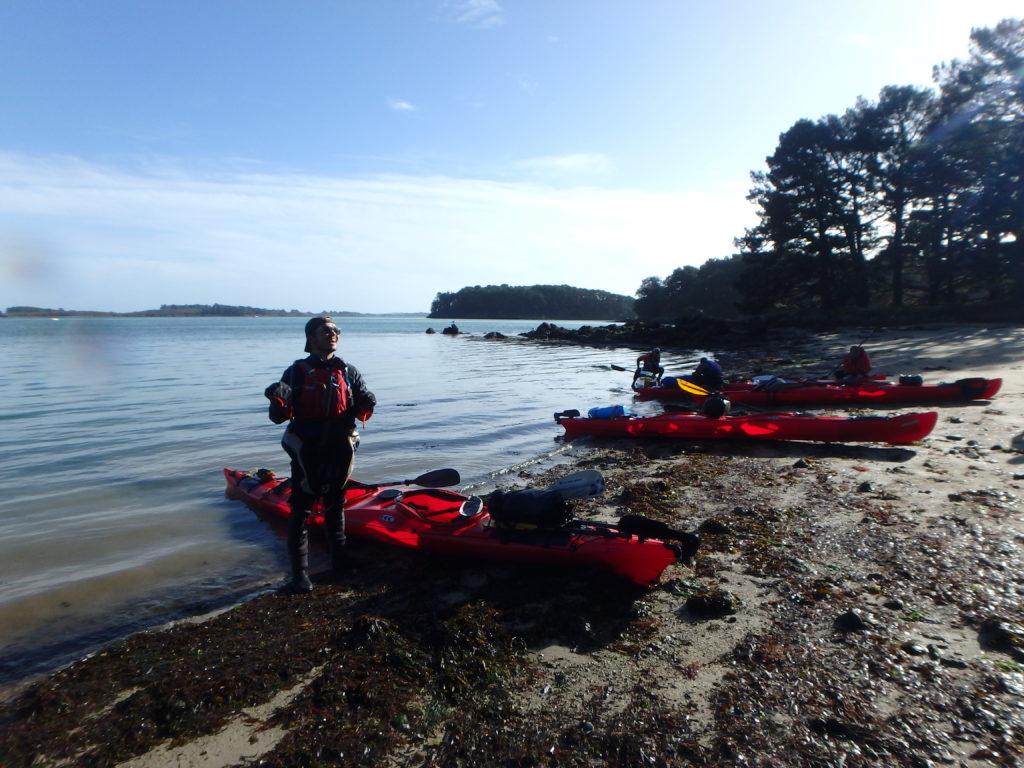 repas kayak pause sport sclerose en plaques